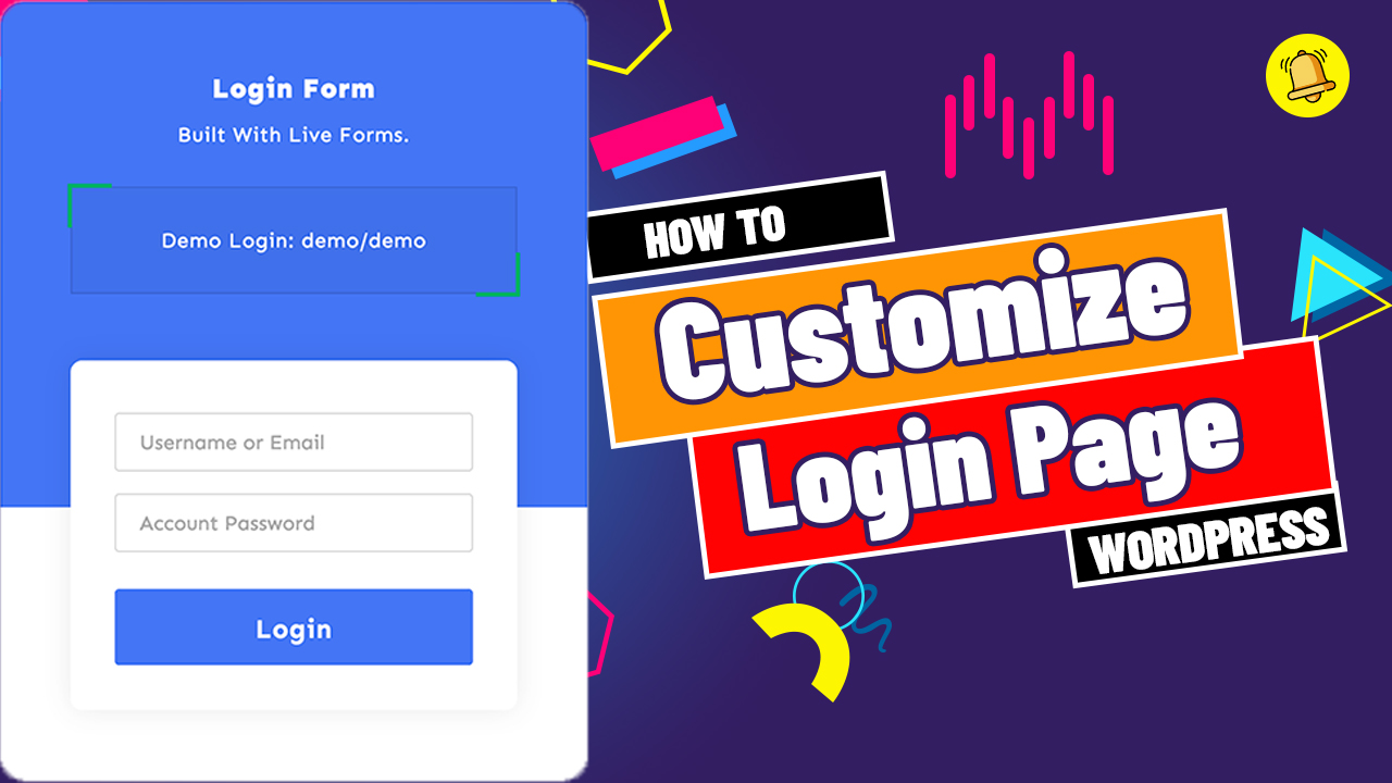 How To Customize The Default WordPress Login Page